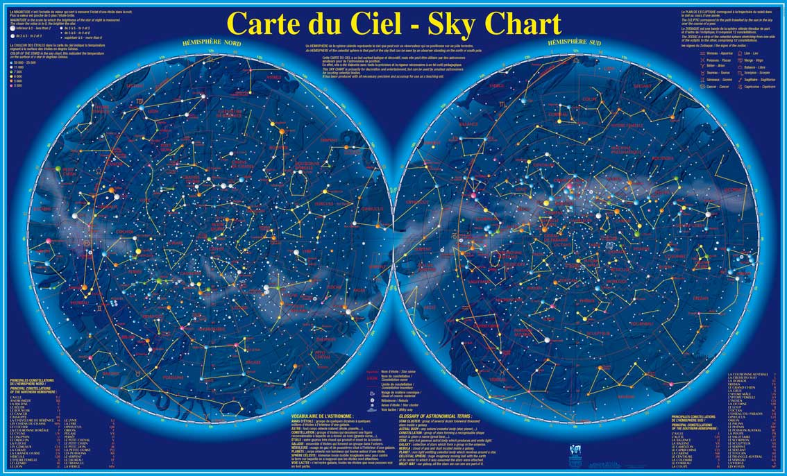 ... carte du ciel' in detail.